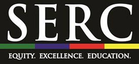 SERC Equity. Excellence. Education Logo